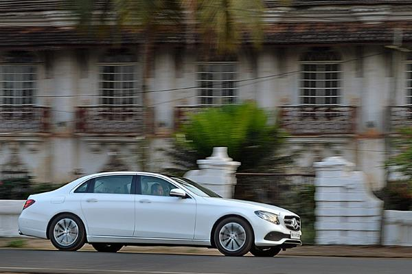 2017 Mercedes E-class long-wheelbase review, test drive