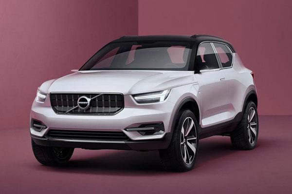All-new Volvo XC40 to take on the Mercedes GLA