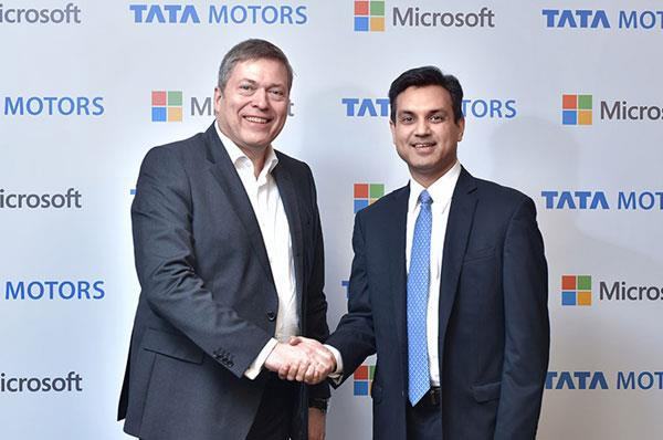 Tata Motors, Microsoft partner to develop hi-tech cars