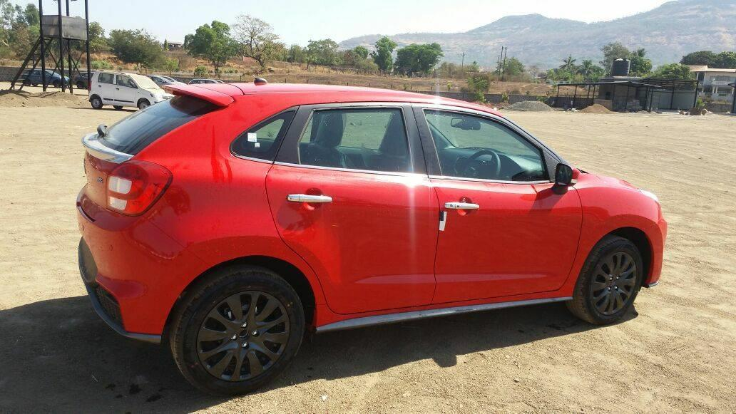 Maruti Baleno RS 1.0 leaked ahead of launch