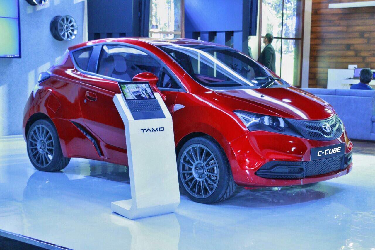 Tata C-Cube concept unveiled in Mumbai