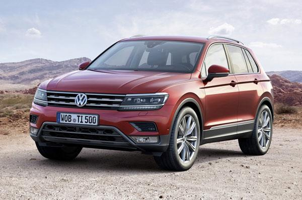 VW Tiguan coming in April, Passat in July