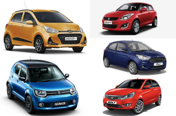 2017 Hyundai Grand i10 facelift vs rivals: Specifications comparison