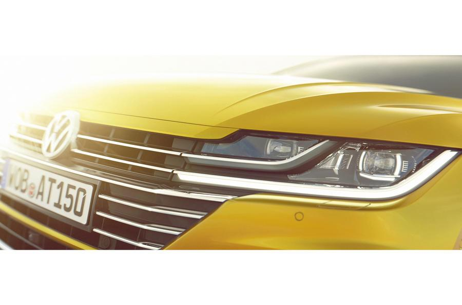 Volkswagen Arteon teased ahead of Geneva debut