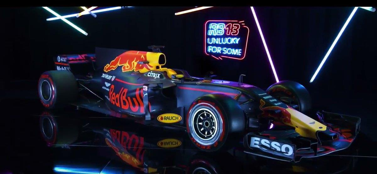 F1 2017: Red Bull looks to take on Mercedes with the new RB13