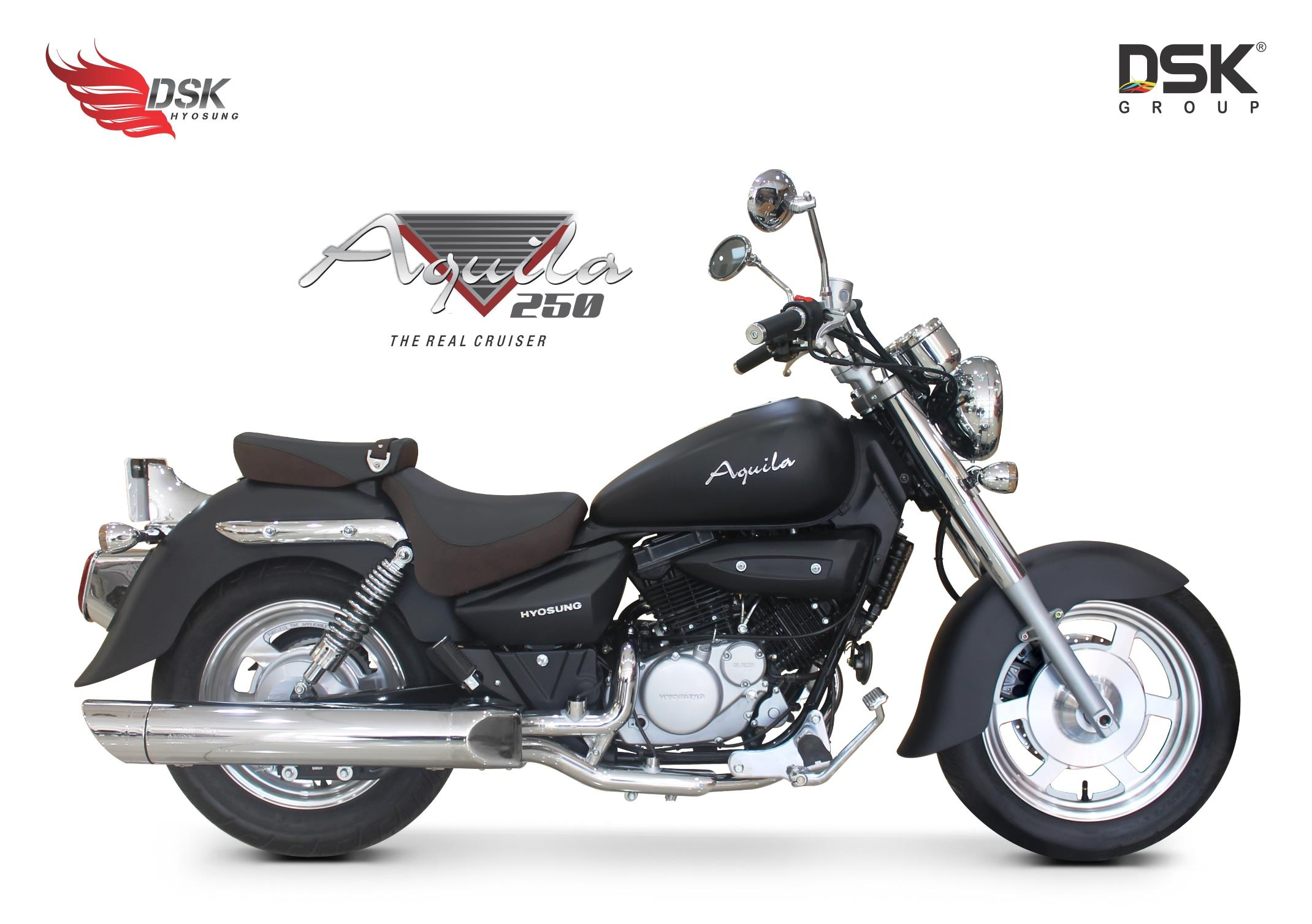 DSK Hyosung Aquila 250 limited edition launched at Rs 2.94 lakh