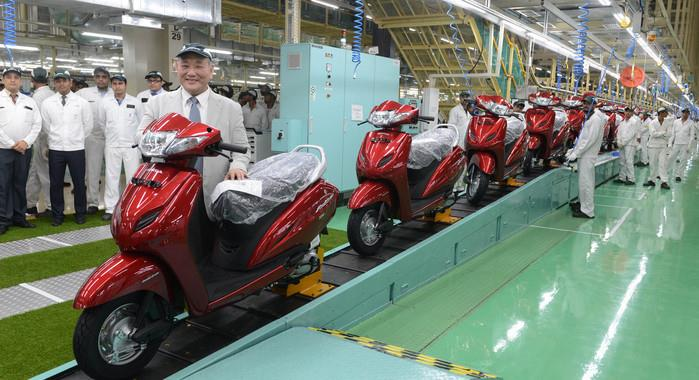 Honda to make only BS IV-compliant two-wheelers