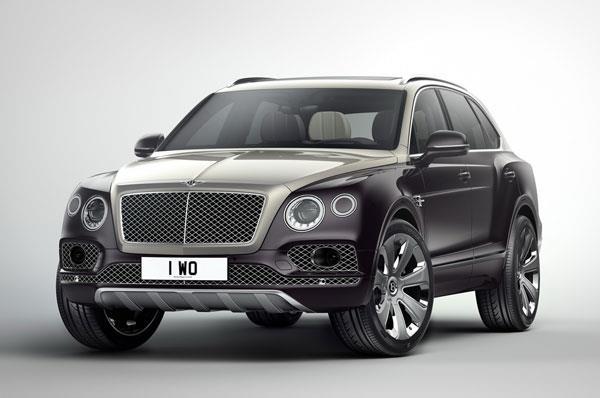 Bentley Bentayga Mulliner edition revealed