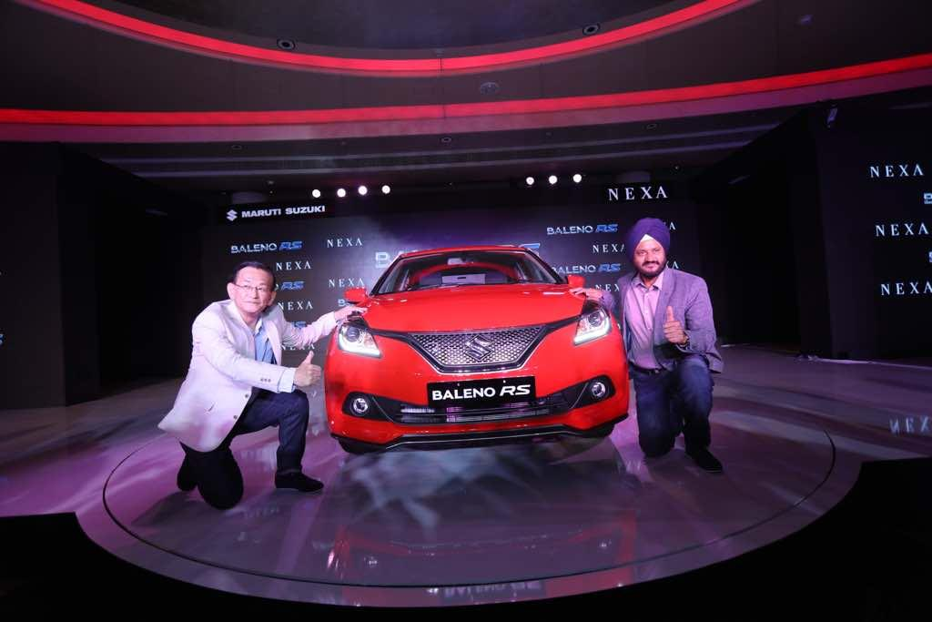 Maruti Baleno RS launched at Rs 8.69 lakh