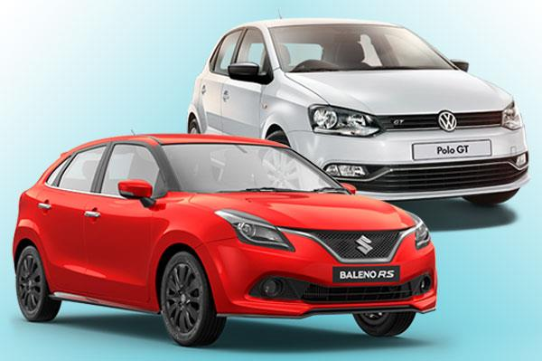 Maruti Baleno RS vs VW Polo GT TSI: Specifications comparison