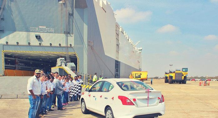 Nissan exports its 700,000th made-in-India car
