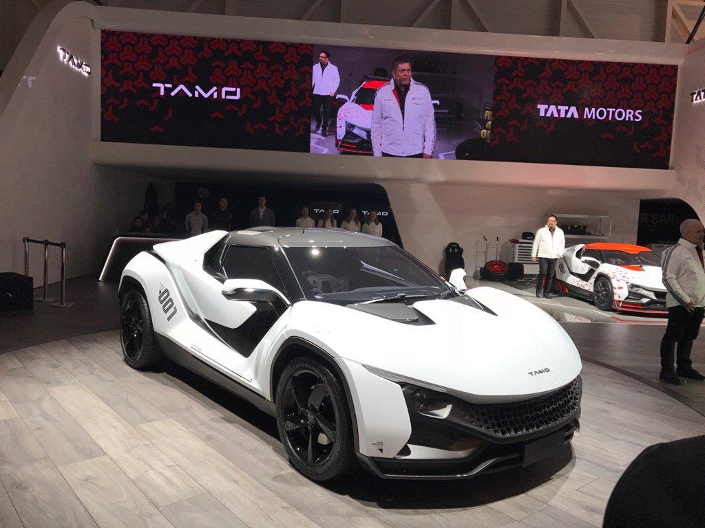Tata unveils stunning Racemo sports coupe
