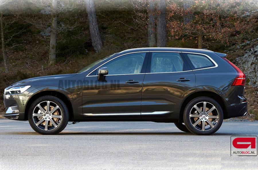 Next-gen Volvo XC60 SUV leaked