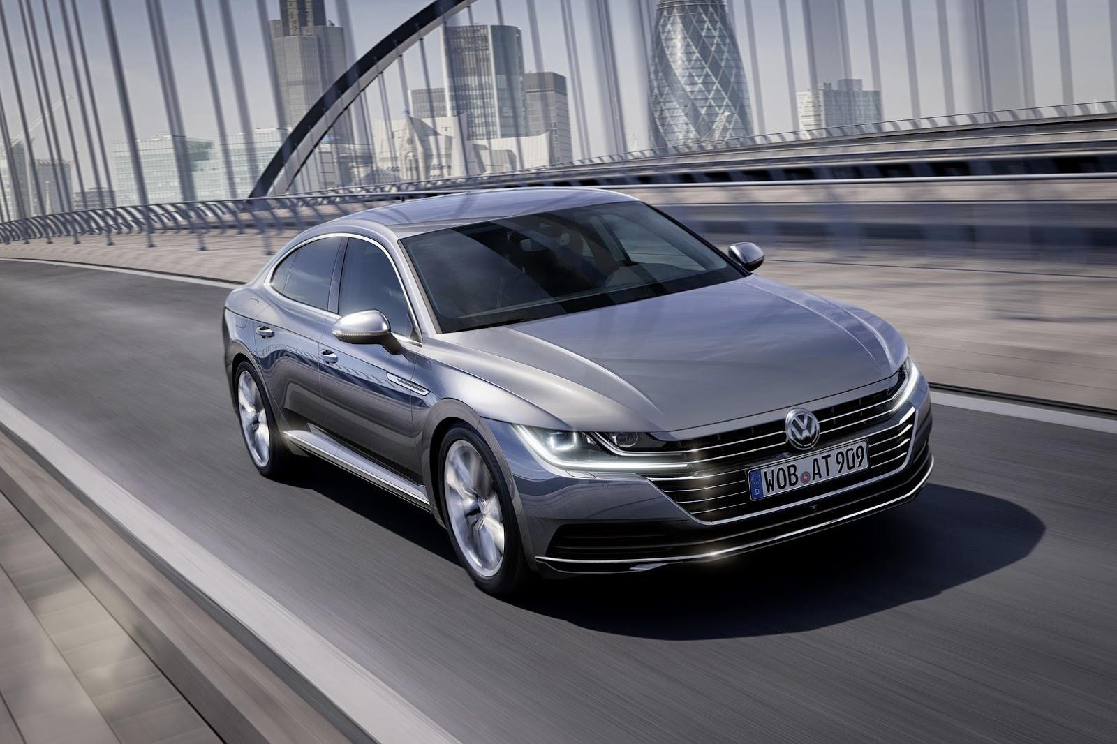 Volkswagen Arteon revealed in Geneva