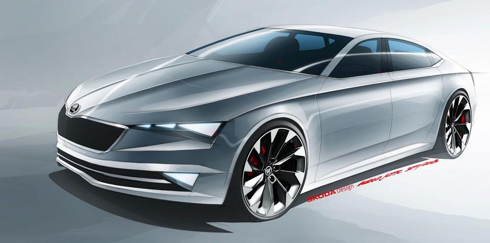 Skoda electric car concept set for Shanghai reveal