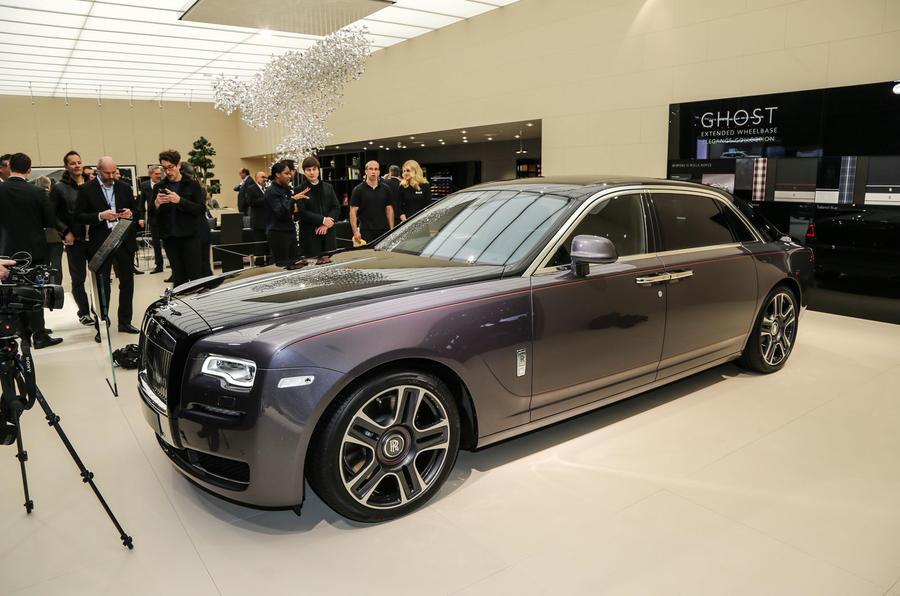 Rolls-Royce brings three bespoke models to Geneva
