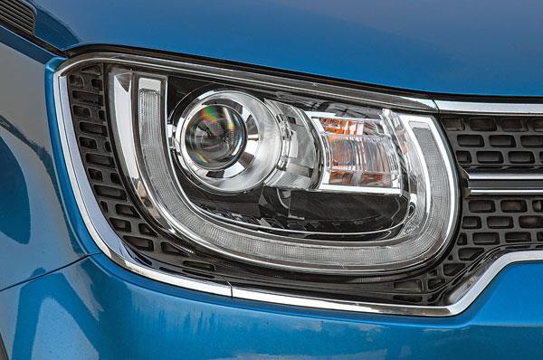 Ignis' LED lights provide great illumination at night.