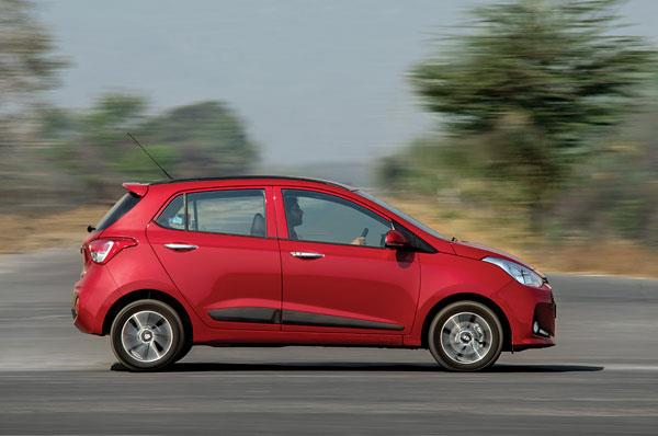 Larger engine has done wonders for Grand i10's performance. Power is delivered in a very friendly, linear manner.