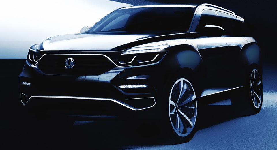 Mahindra Y400 SUV sketches revealed