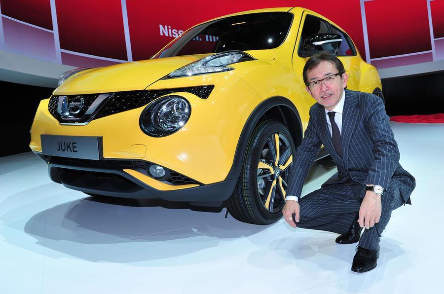 Nissan design chief Shiro Nakamura to retire