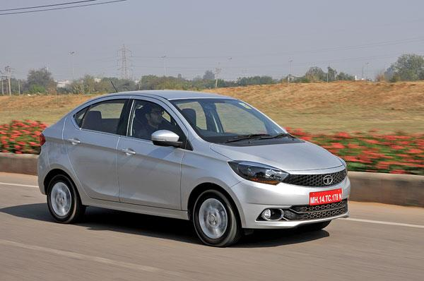 The Tigor offers good straight-line stability and ride quality is impressive.