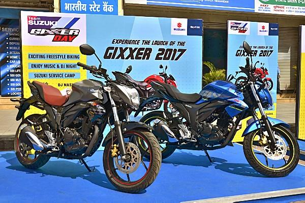 Suzuki launches BS IV-compliant 2017 Gixxer siblings