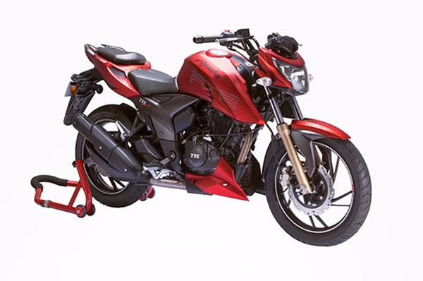 Updated 2017 TVS Apache RTR 200 4V launched
