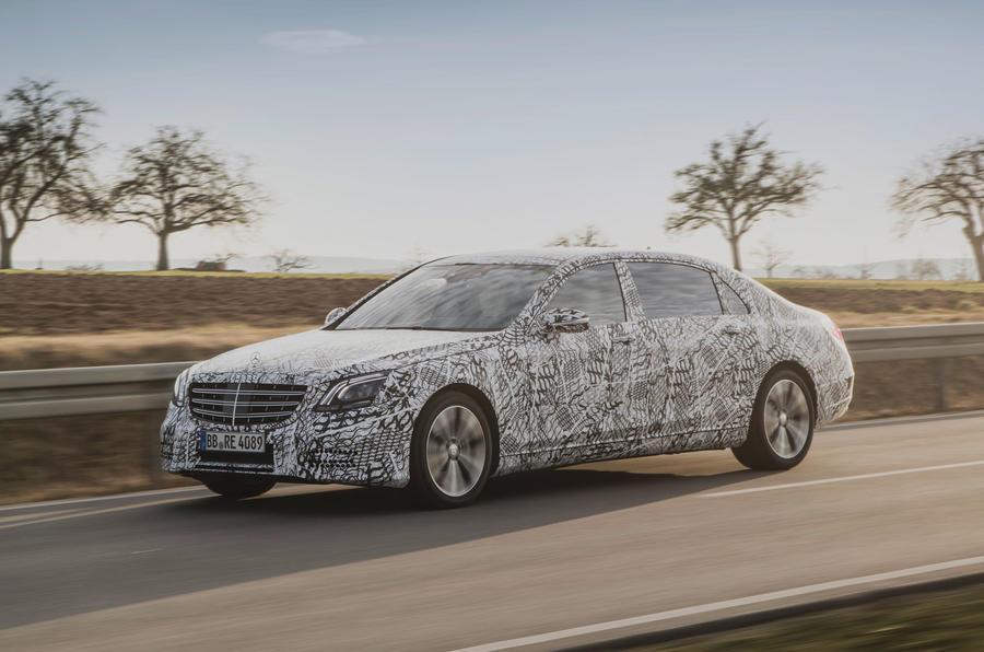 Mercedes S-class facelift to get autonomous tech