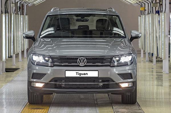 Volkswagen Tiguan local production begins