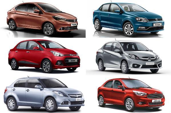 Tata Tigor vs rivals: Specifications comparison