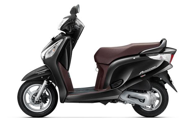 Honda Aviator BS-IV launched at Rs 52,077