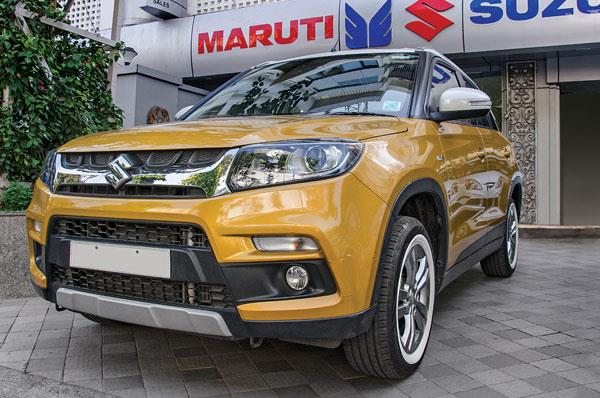 Demand for Maruti Vitara Brezza remains strong