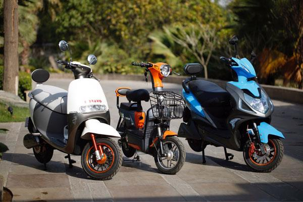 OK Play launches range of electric two-wheelers
