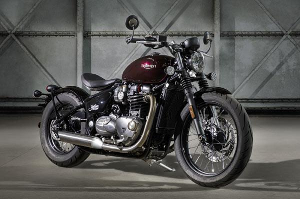 Triumph Bonneville Bobber launched at Rs 9.09 lakh