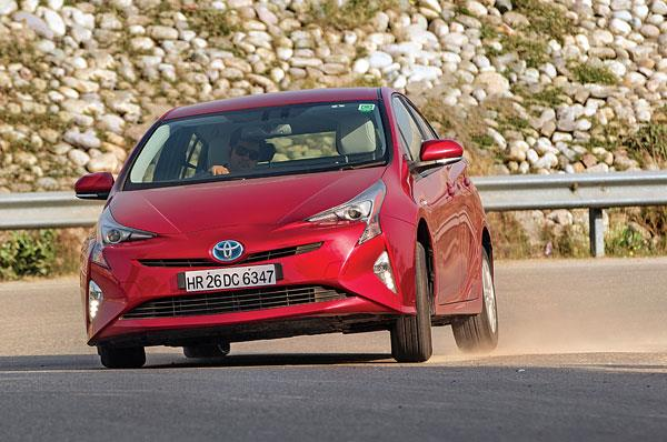 The new Prius doesn't wince at the sight of corners. It's reasonably fun to drive.