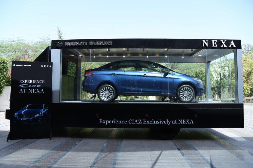 Maruti Ciaz moves to Nexa from April 1, 2017