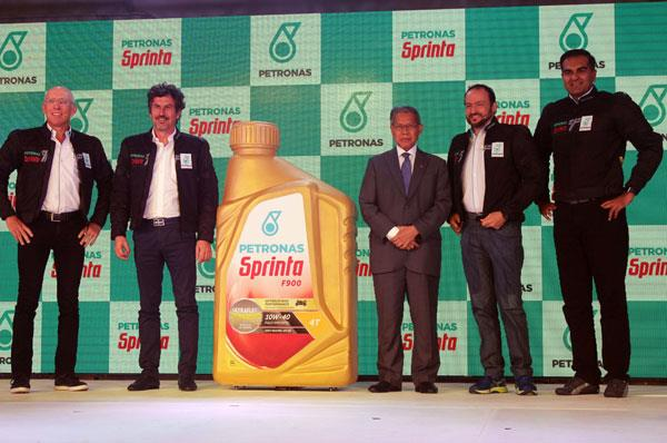 Petronas launches Sprinta motorcycle lubricant in India