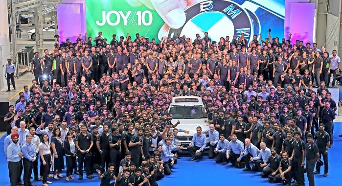 BMW Chennai plant completes 10 years