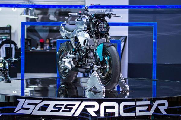 Honda reveals 150SS Racer concept
