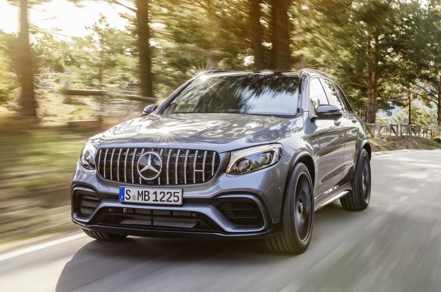 Mercedes-AMG GLC 63, GLC 63 Coupe revealed