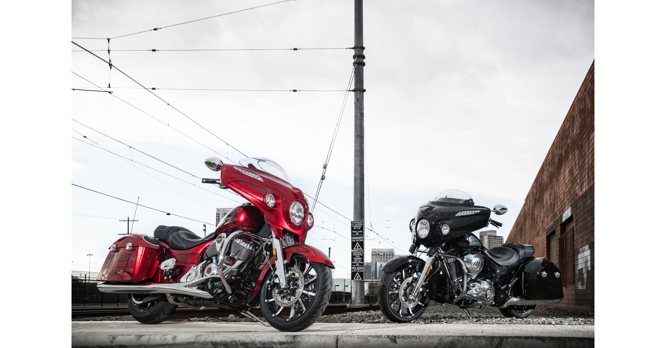 Indian Motorcycle unveils two Chieftain models