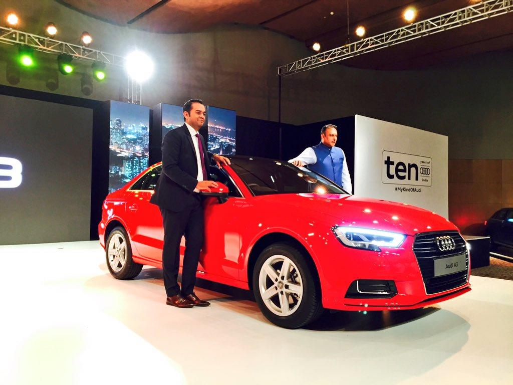 2017 Audi A3 facelift launched at Rs 30.50 lakh