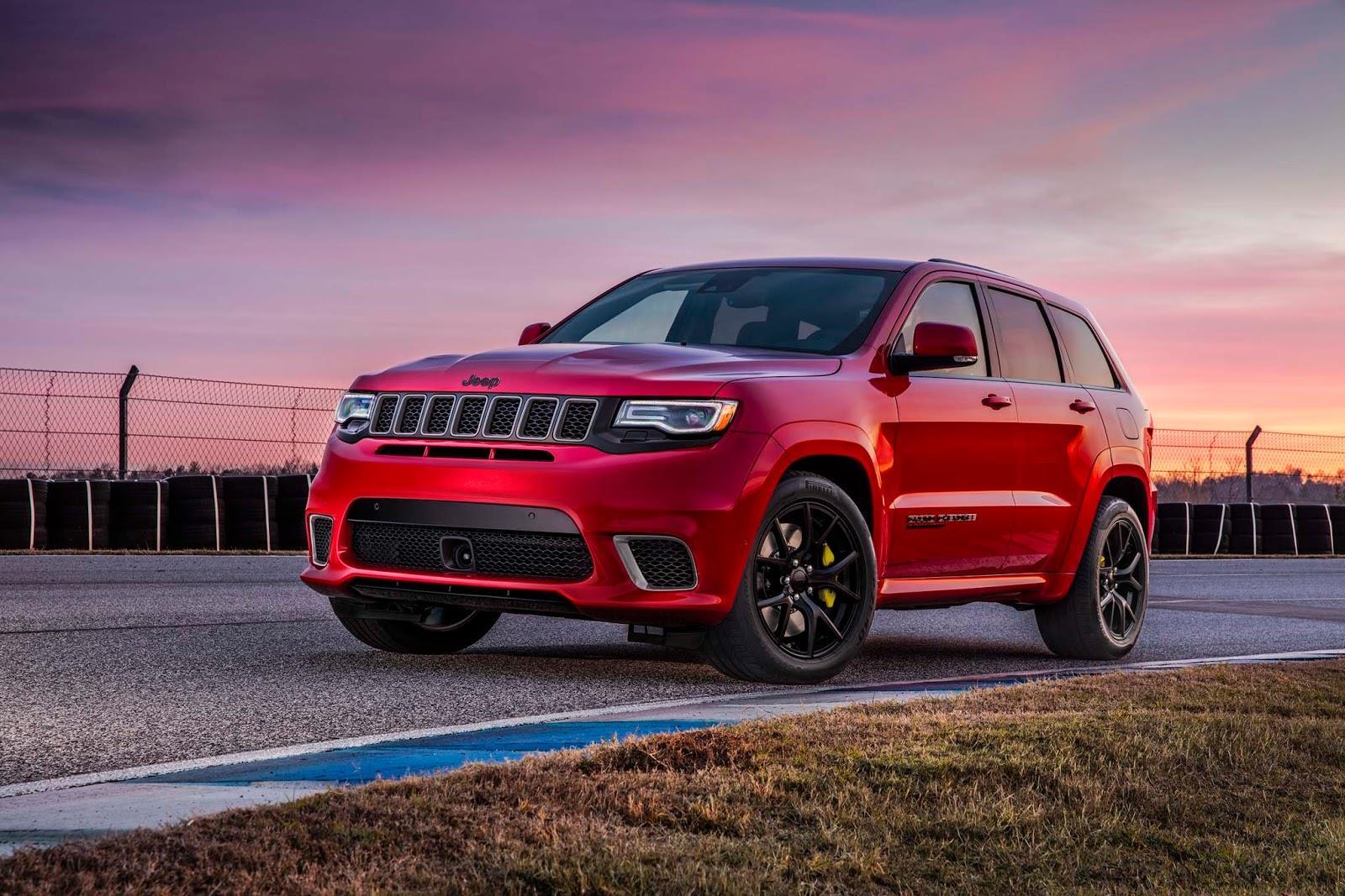 717hp Jeep Grand Cherokee Trackhawk revealed