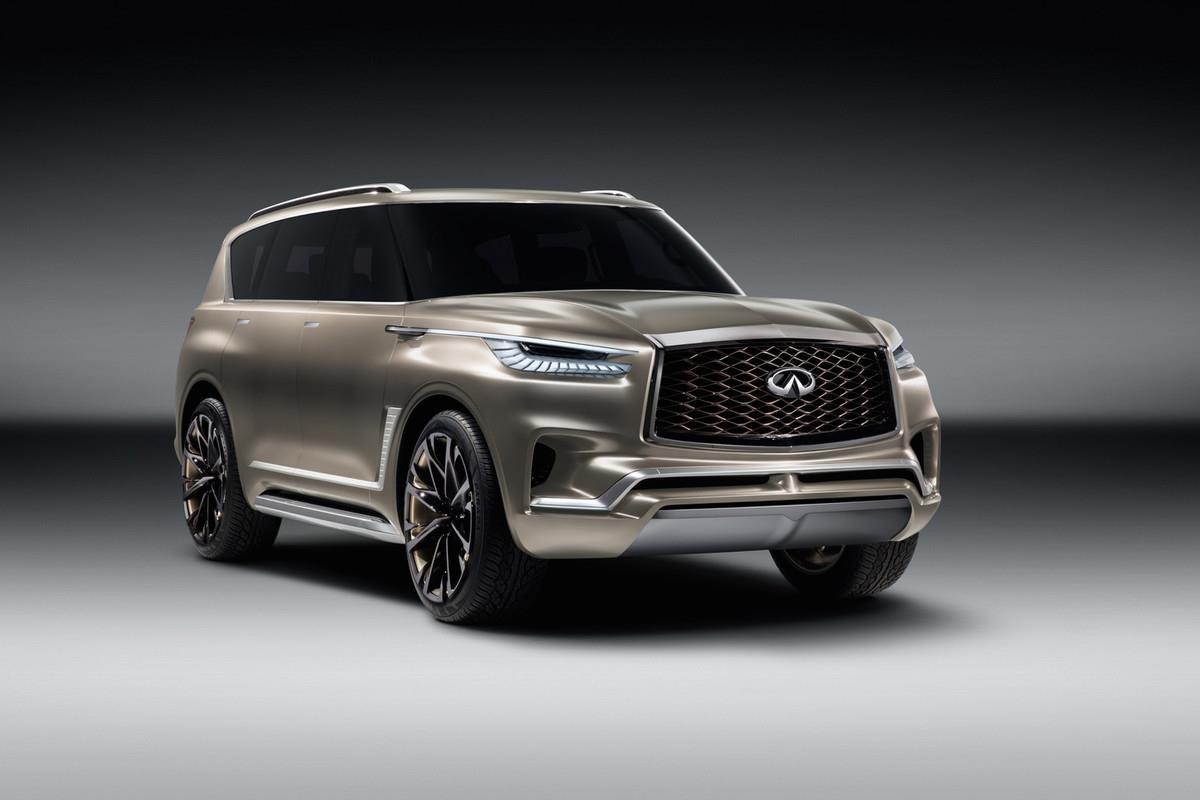 QX80 Monograph concept previews future Infiniti SUV