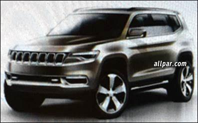Jeep K8 concept leaked ahead of Shanghai debut