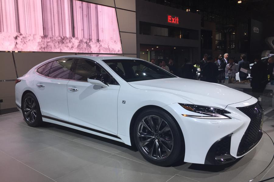 Lexus LS F Sport revealed at New York