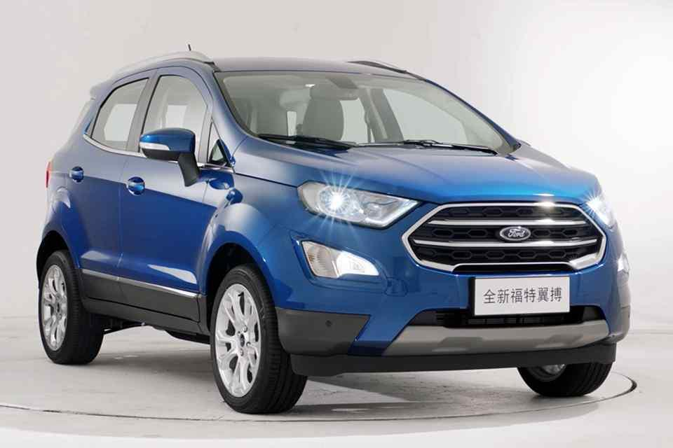 Facelifted Ford EcoSport to be showcased in Shanghai