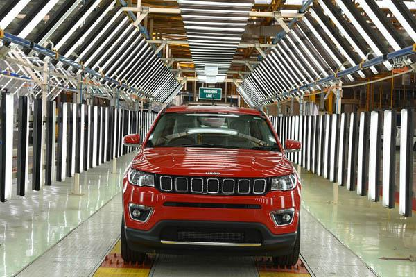 Made-in-India Jeep Compass to be exported to Australia, Japan and UK