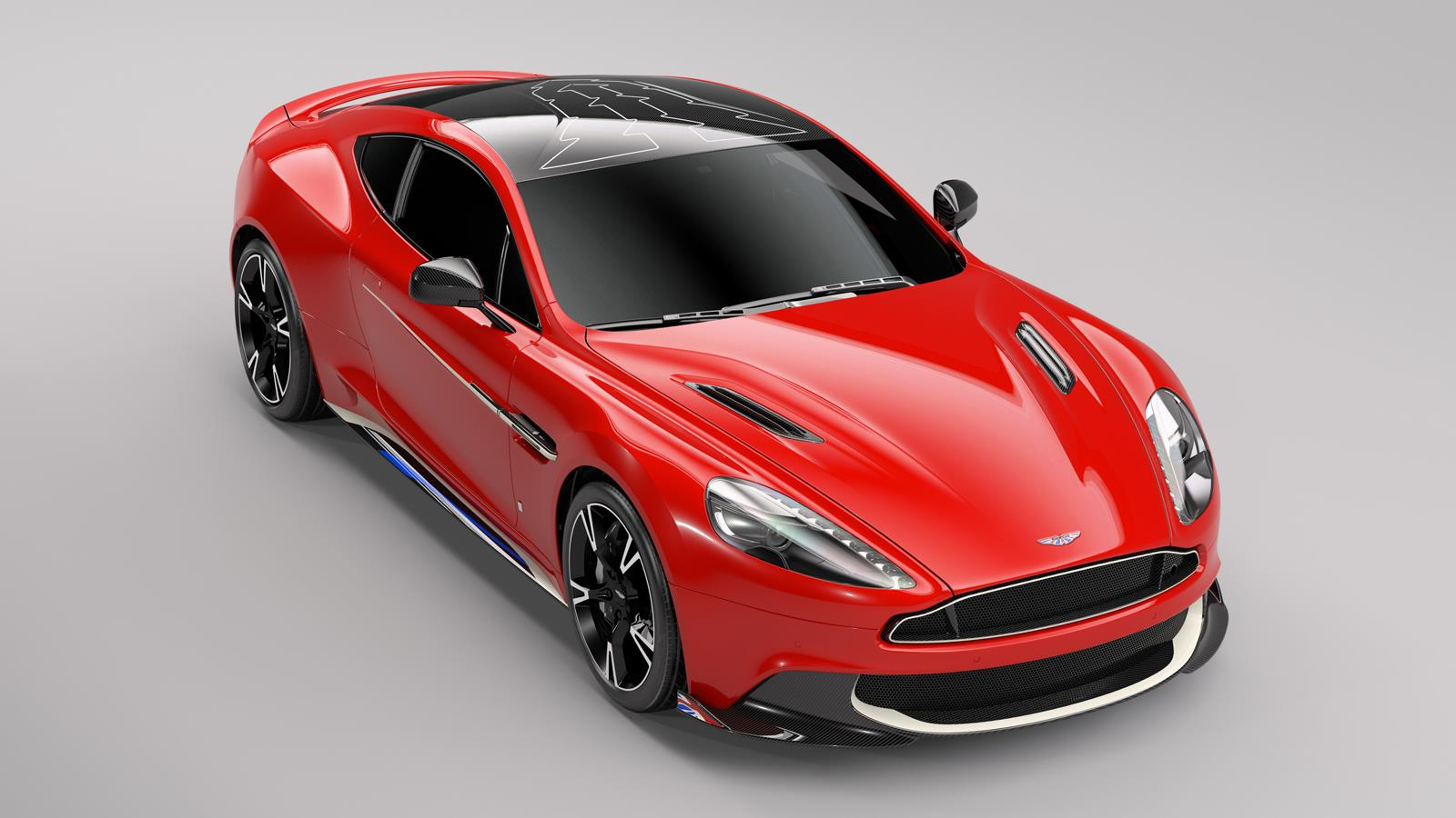 Aston Martin Vanquish S gets special Red Arrows edition