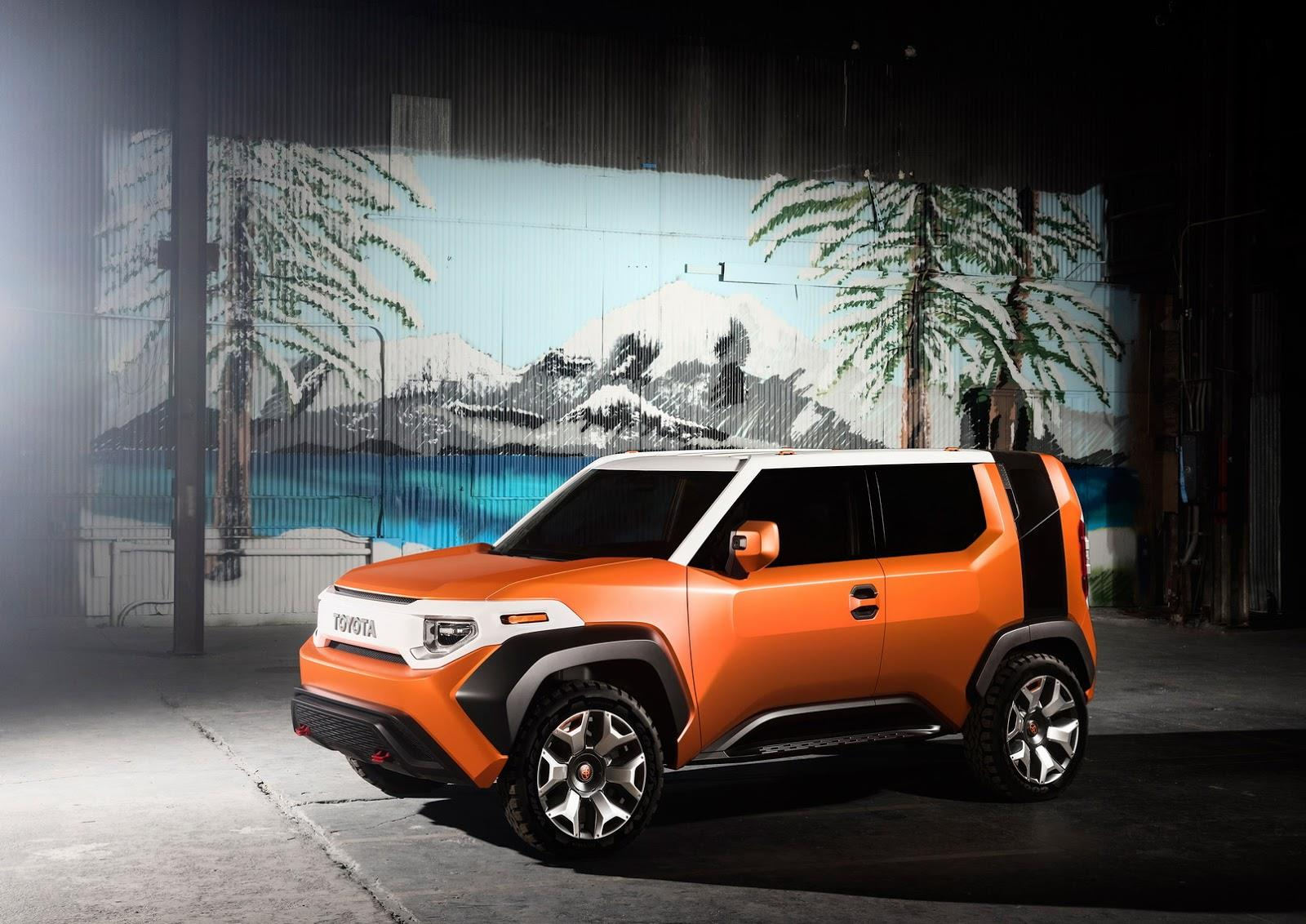 Toyota FT-4X SUV concept revealed at New York